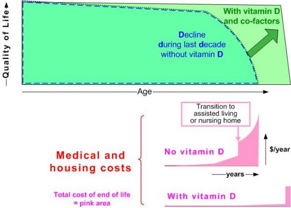 Vitamin D should reduce medical costs
