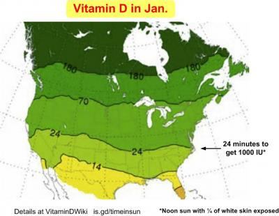 Map of Vitamin D in Jan
