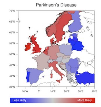 Image result for parkinson's latitude