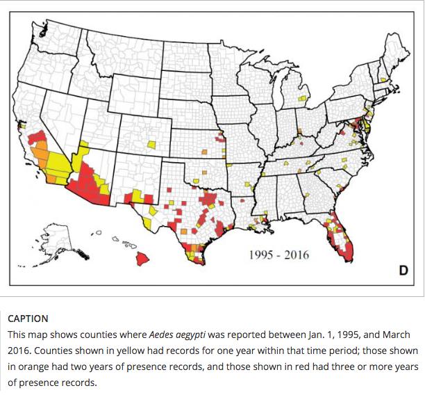 Zika Mosquito Maps US For Past Years Vitamin D Wiki - Us zika map