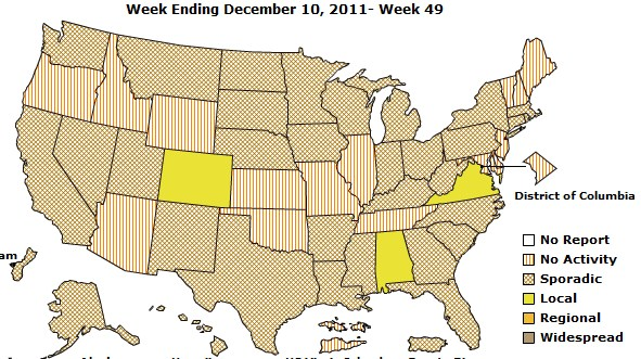 Reduce Probability Of Getting The Flu Vitamin D Wiki - Flu In The Us Map